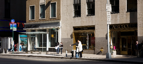 Sixth Avenue 5, 2009, 86x198cm, C-Print, Diasec. © Gudrun Kemsa