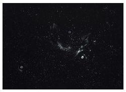 Inge Krause, Ohne Titel, 2013, Pastellpuder auf d-c-fix Velours auf Alu-Dibond, 18,5 x 26 cm, Courtesy Galerie Mathias Güntner © Inge Krause, Hamburg 2013