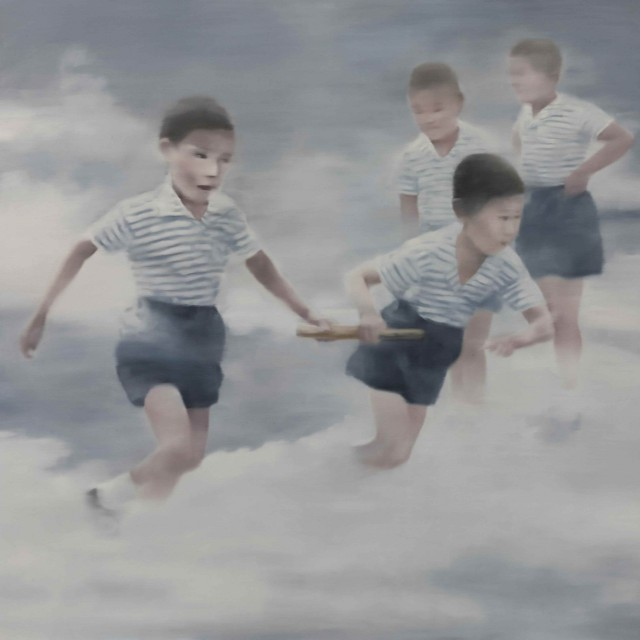 Li Luming  Polo Shirt, 2011  Oil on canvas  200 x 200 cm  © Li Luming