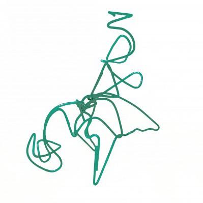 "Sven Blatt, ""Verwirrung-Verirrung"", 80 x 60 x 60, Plexiglas; Foto © Sven Blatt"