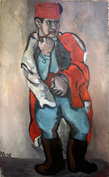 kolle_pfeife-rauchender-spahi_1925