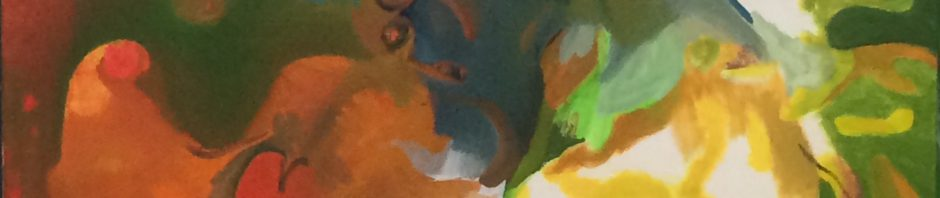 "Künstler: Sebastian Mayrle - ""fire"" | 2019 | 60 x 80 cm | Öl & Acryl a. LW"