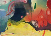 "Künstler: Sebastian Mayrle - ""atmosphere"" | 2018 | 100 x 140 cm | Öl a. LW"