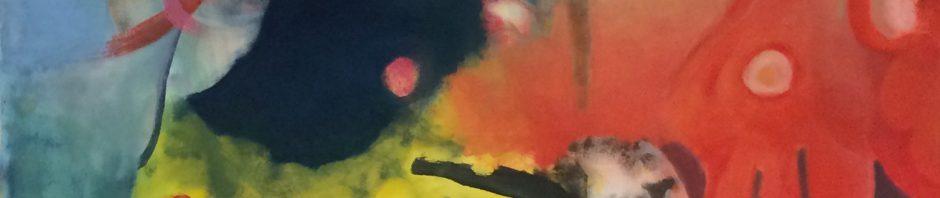 "Künstler: Sebastian Mayrle - ""atmosphere""   2018   100 x 140 cm   Öl a. LW"