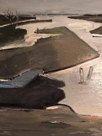 Künstlerin: Sabine Schäfer | Acryl 80 x 60cm | 2019 | auf Keilrahmen gespannt (ohne Keilrahmen)