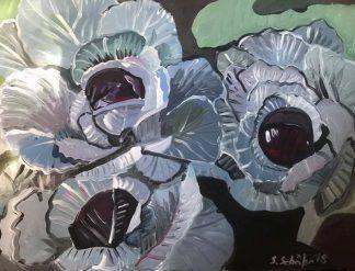 Künstlerin: Sabine Schäfer | 2018 | 60 x 80cm | Acryl a. LW | auf Keilrahmen gespannt (ohne Zierrahmen)