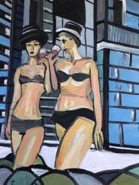 Künstlerin: Sabine Schäfer | 2018 | 80 x 60 cm | Acryl a. LW | auf Keilrahmen gespannt