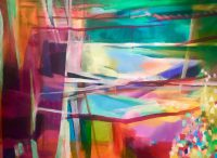 Künstlerin: Anne Samson 2019 | 80 x 60 cm | Acryl a. LW | auf Keilrahmen gespannt (ohne Zierrahmen)