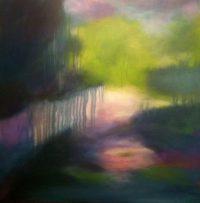 Künstlerin: Anne Samson 2018 | 80 x 80 cm | Acryl und Tusche auf Leinwand | auf Keilrahmen gespannt (ohne Zierrahmen)