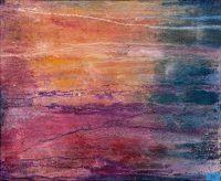 Künstlerin: Anne Samson 2018 | 70 x 60 cm | Tusche, Sand, Pigmente, Marmormehl a. LW | auf Keilrahmen gespannt (ohne Zierrahmen)