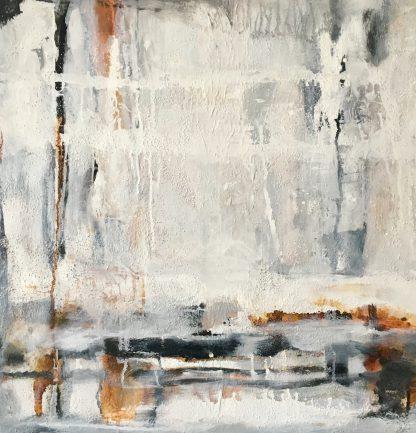 Künstlerin: Anne Samson 2019 | 60 x 60 cm | Sand, Acrylmalerei, Pigmente, Marmormehl auf LW | auf Keilrahmen gespannt (ohne Zierrahmen)