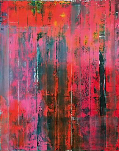 Mauer, 1994, Gerhard Richter, Öl auf Leinwand, Schenkung 2019 von Dr. Viktoria von Flemming über die Gesellschaft der Freunde der Kunstsammlung Nordrhein-Westfalen e.V. © Gerhard Richter 2019