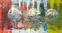 Künstler: Dirk Groß | 2019 | 80 x 150 cm | Mischtechnik auf Leinen | auf Keilrahmen gespannt (ohne Zierrahmen)