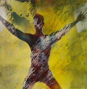 Künstler: Dirk Groß | 2019 | 60 x 60 cm | Mischtechnik auf Leinen | auf Keilrahmen gespannt (inkl. Zierrahmen)