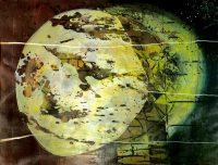 Künstler: Dirk Groß | 2019 | 72 x 83 cm | Mischtechnik auf Bütten | Maß-gerahmt
