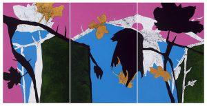 Sandra Keutgens | 2018 | 115 x 225 x 2 cm | Öl a. LW