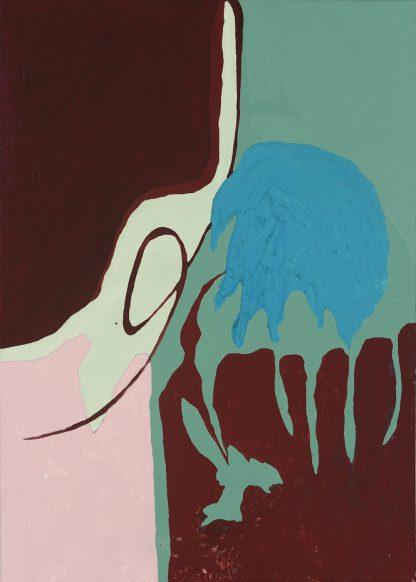 Künstlerin: Sandra Keutgens | 2018 | 70 x 50 x 2 cm | Öl a. LW | auf Keilrahmen gespannt (ohne Zierrahmen)