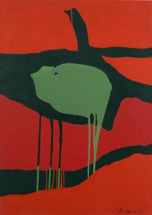 Künstlerin: Sandra Keutgens | 2003 | 90 x 65 x 2cm | Öl a. LW | auf Keilrahmen gespannt (ohne Zierrahmen)