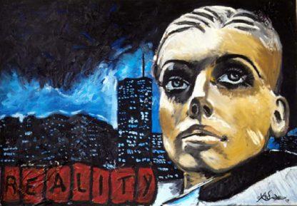 Künstler: Armin Schanz | 2009 | 70 x 100 cm | Öl auf Leinwand, rückseitig geklammert