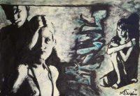 Künstler: Armin Schanz | 2008 | 70 x 100 cm | Mischtechnik auf Karton
