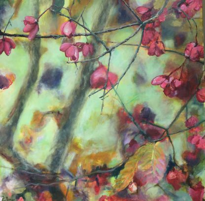 Künstlerin: Regina Berge | 2014 | 100 x 100 x 4 cm | Acryl auf Leinwand | auf Keilrahmen gespannt, ohne Zierrahmen
