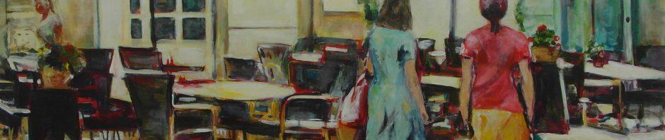 Künstlerin: Regina Berge | 2012 | 80 x 120 cm | Acryl auf Leinwand | auf Keilrahmen gespannt, ohne Zierrahmen