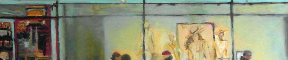 "Regina Berge: ""Mango"" | 2014 | 80 x 100 cm | Acryl auf Leinwand"