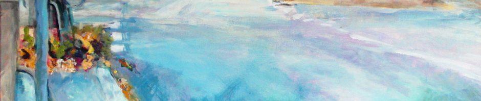 Künstlerin: Regina Berge | 2013 | 100 x 100 x 4 cm | Acryl auf Leinwand | auf Keilrahmen gespannt, ohne Zierrahmen