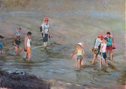 "Regina Berge: ""Sommerzeit"" | 2019| 50 x 70 cm | Acryl auf Leinwand"