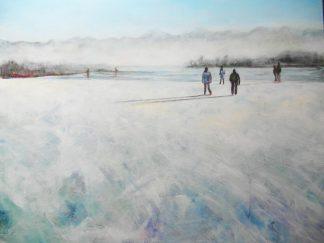Künstlerin: Regina Berge | 2012| 80 x 100 cm | Acryl auf Leinwand | auf Keilrahmen gespannt, ohne Zierrahmen