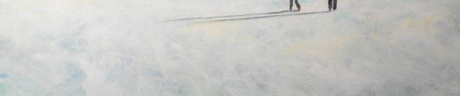Künstlerin: Regina Berge   2012  80 x 100 cm   Acryl auf Leinwand   auf Keilrahmen gespannt, ohne Zierrahmen