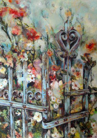 Künstlerin: Regina Berge | 2016 | 165 x 120 cm | Acryl auf Leinwand | auf Keilrahmen gespannt, ohne Zierrahmen