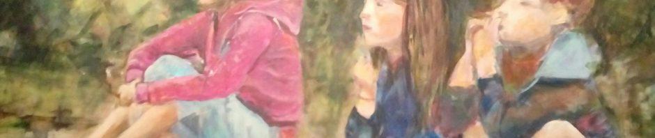 Künstlerin: Regina Berge | 2017| 80 x 100 cm | Acryl auf Leinwand | auf Keilrahmen gespannt, ohne Zierrahmen